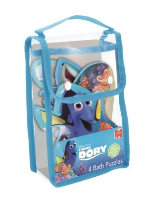 Disney Finding Dory (Kinderpuzzle), 4 in 1 Badepuzzle