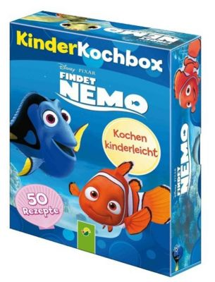Disney Kinderkochbox - Findet Nemo,  50 Rezeptkarten