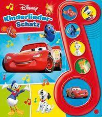 Disney - Kinderliederschatz, m. Soundeffekten