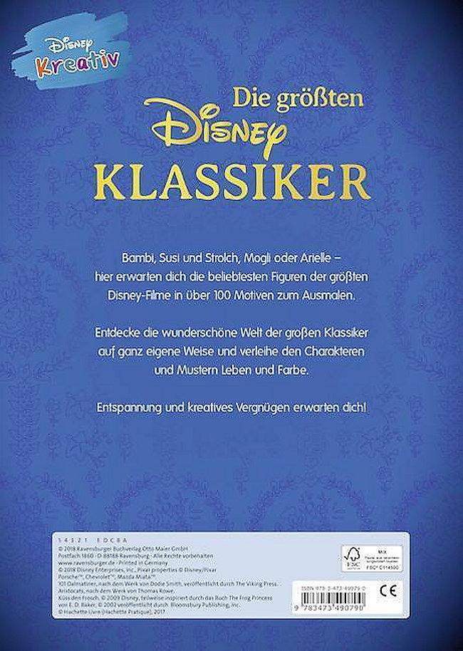 Disney Kreativ Die Größten Disney Klassiker Buch Weltbildde