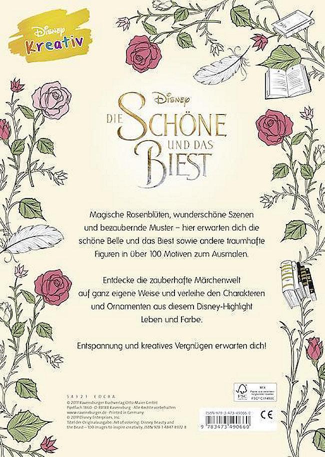 Disney Kreativ Die Schöne Und Das Biest Buch Weltbildde