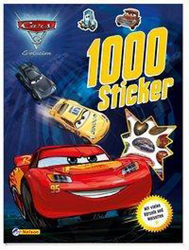 Disney Pixar Cars 3 Evolution 1000 Sticker Buch Weltbild De