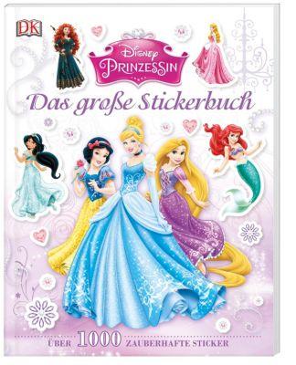 Disney Prinzessin - Das große Stickerbuch, Lisa Stock