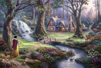 Disney Schneewitchen (Puzzle), Thomas Kinkade