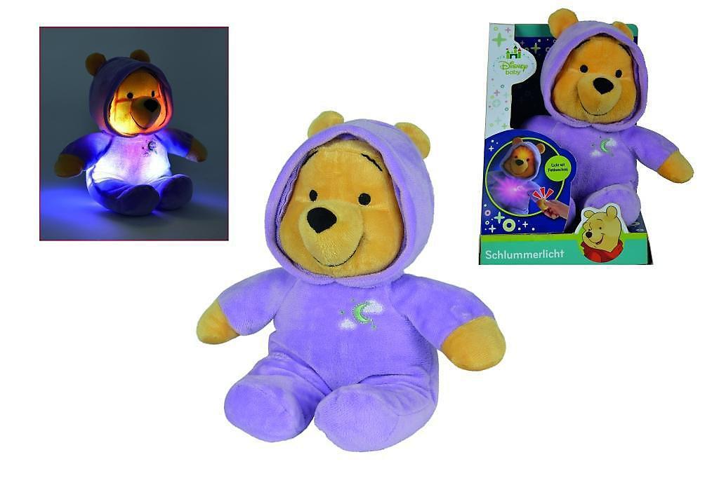 Disney Winnie The Puuh Plüsch Bär mit Schlummerlicht 28 cm | Weltbild.de