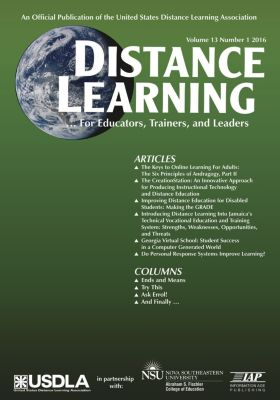 Distance Learning - Issue