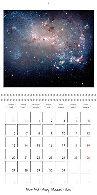 Distant galaxies - Endless space and mysterious star clusters (Wall Calendar 2019 300 × 300 mm Square) - Produktdetailbild 5