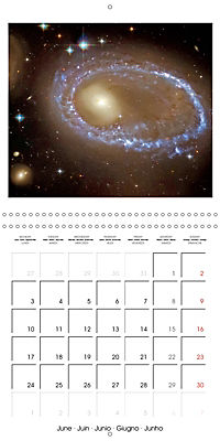 Distant galaxies - Endless space and mysterious star clusters (Wall Calendar 2019 300 × 300 mm Square) - Produktdetailbild 6