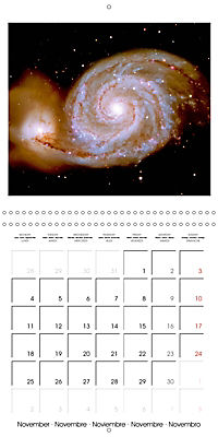 Distant galaxies - Endless space and mysterious star clusters (Wall Calendar 2019 300 × 300 mm Square) - Produktdetailbild 11