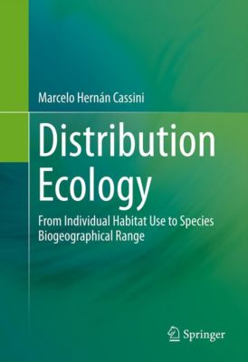 Distribution Ecology, Marcelo Hernán Cassini