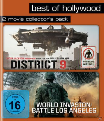 District 9 / World Invasion: Battle Los Angeles