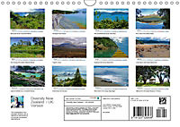 Diversity New Zealand / UK-Version (Wall Calendar 2019 DIN A4 Landscape) - Produktdetailbild 13