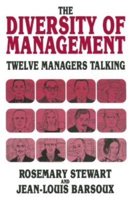 Diversity of Management, Jean-Louis Barsoux, Rosemary Stewart