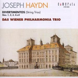 Divertimenti 1,2,3,4,8, Wiener Philharmonia Trio