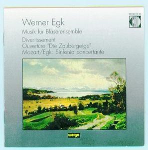 Divertissement/Ouvertüre Die Zaubergeige, Schöll, Klaus Rainer Schöll, Bläser Ensemble Mainz