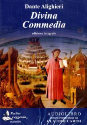 Divina commedia, 1 MP3-CD, Dante Alighieri