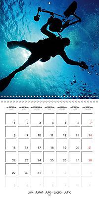 Diving - The wonderful water world (Wall Calendar 2019 300 × 300 mm Square) - Produktdetailbild 7