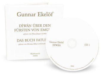 Diwan über den Fürsten von Emgión / Das Buch Fatumeh , 2 Audio-CDs, Gunnar Ekelöf