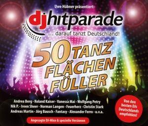 DJ Hitparade - 50 Tanzflächenfüller, Diverse Interpreten