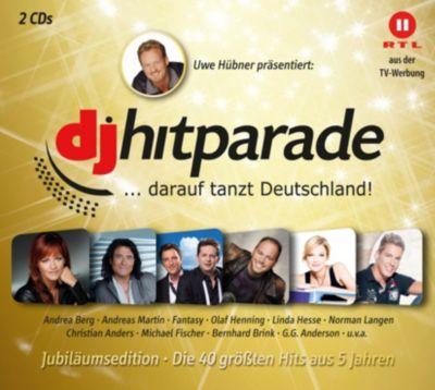 DJ Hitparade Jubiläumsedition, Various
