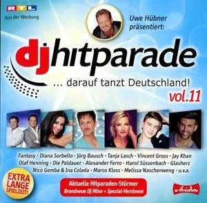 Dj Hitparade,Vol.11, Diverse Interpreten
