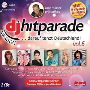 DJ Hitparade Vol. 6, Diverse Interpreten