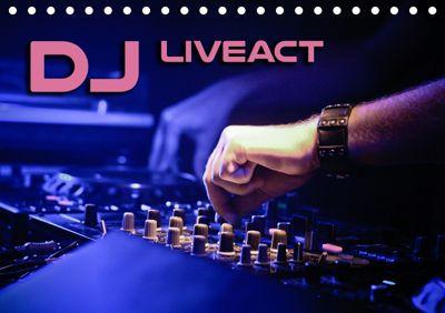 DJ Liveact (Tischkalender 2019 DIN A5 quer), Renate Bleicher