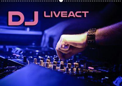 DJ Liveact (Wandkalender 2019 DIN A2 quer), Renate Bleicher