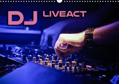 DJ Liveact (Wandkalender 2019 DIN A3 quer), Renate Bleicher
