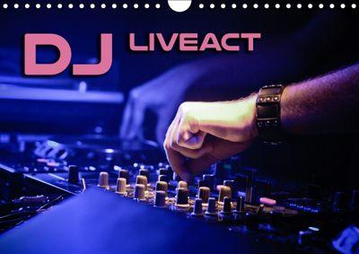 DJ Liveact (Wandkalender 2019 DIN A4 quer), Renate Bleicher