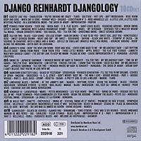Django Reinhardt - Djangology, 10 CDs - Produktdetailbild 1