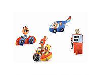 Djeco - Mini Figuren Brumm Brumm zum Ausmalen - Produktdetailbild 1