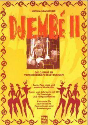 Djembe, m. Audio-CD, Ursula Branscheid