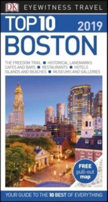 DK Eyewitness Top 10 Travel Guide Boston 2019, DK Travel