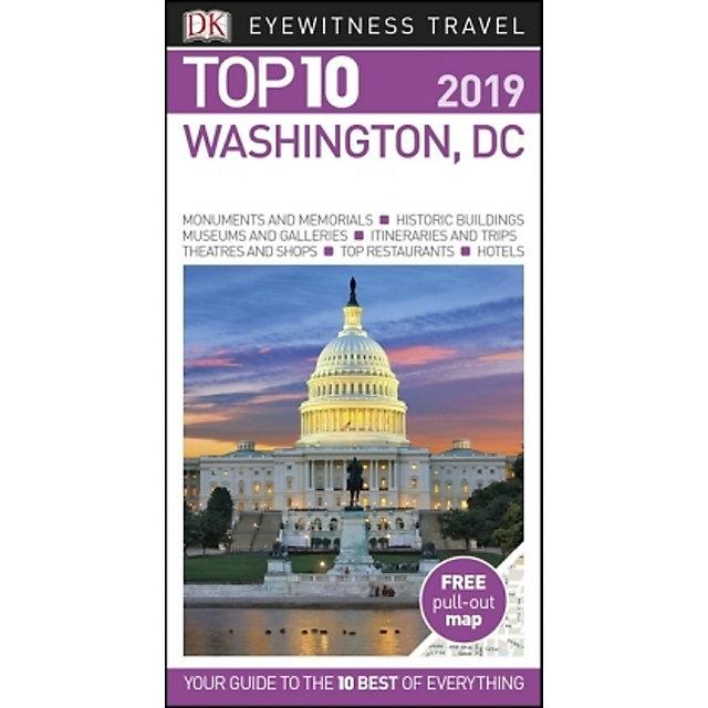 DK Eyewitness Top 10 Travel Washington, DC Buch ...