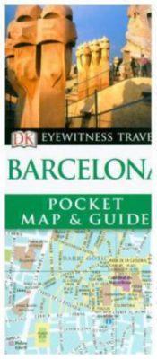 DK Eyewitness Travel Pocket Map & Guide: Barcelona, DK Travel