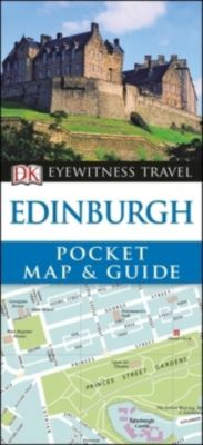 DK Eyewitness Travel Pocket Map & Guide Edinburgh