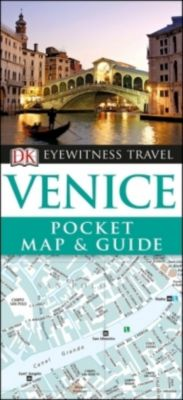 DK Eyewitness Travel Venice Pocket Map and Guide, DK Travel