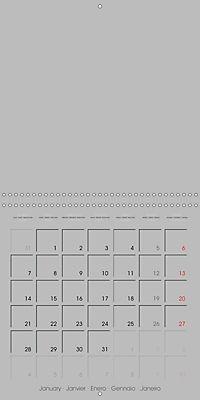 Do-it-yourself calendar (Wall Calendar 2019 300 × 300 mm Square) - Produktdetailbild 1
