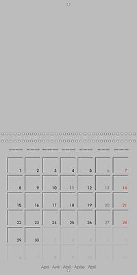 Do-it-yourself calendar (Wall Calendar 2019 300 × 300 mm Square) - Produktdetailbild 4