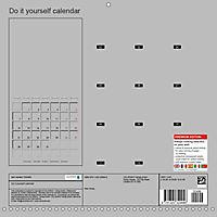 Do-it-yourself calendar (Wall Calendar 2019 300 × 300 mm Square) - Produktdetailbild 13