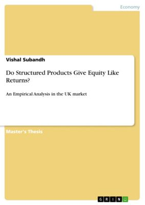 Do Structured Products Give Equity Like Returns?, Vishal Subandh