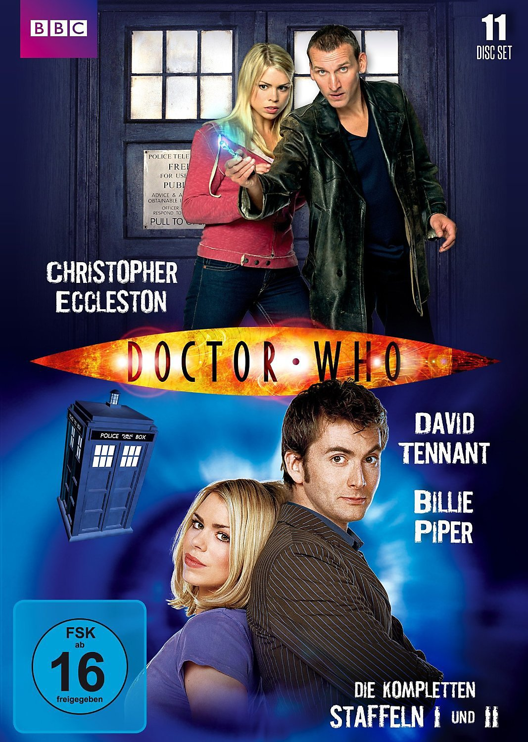 Doctor Who Staffeln
