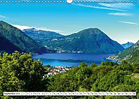 Dörfer des Luganer Sees (Wandkalender 2019 DIN A3 quer) - Produktdetailbild 9