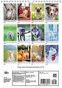 Dogs with strong personalities 2019 (Wall Calendar 2019 DIN A4 Portrait) - Produktdetailbild 13