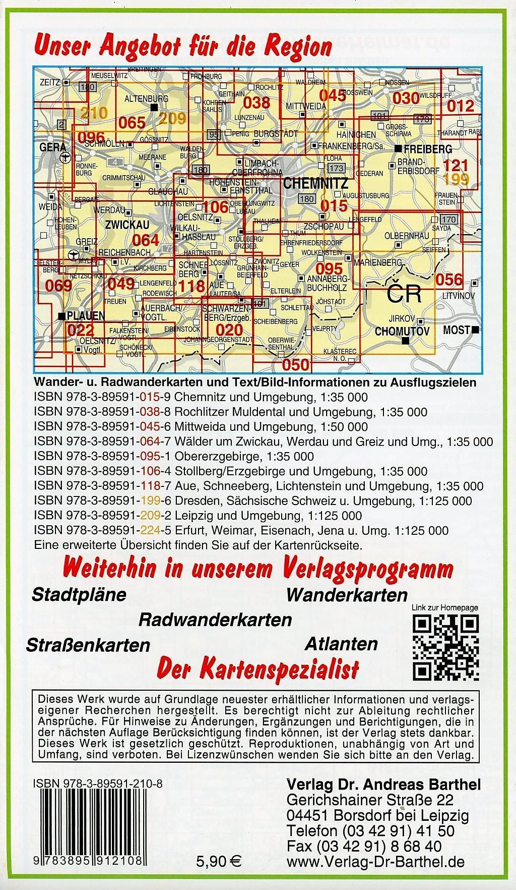 Karte Chemnitz Und Umgebung.Doktor Barthel Karte Chemnitz Erzgebirge Und Umgebung Buch