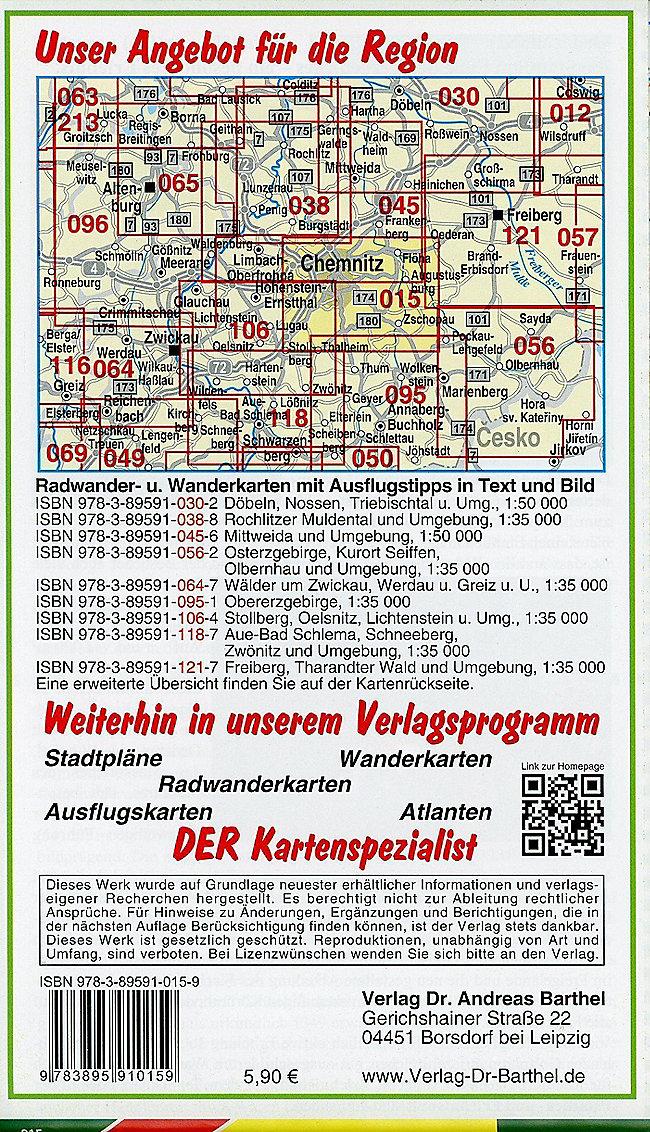 Karte Chemnitz.Doktor Barthel Karte Chemnitz Und Umgebung Buch Weltbild De