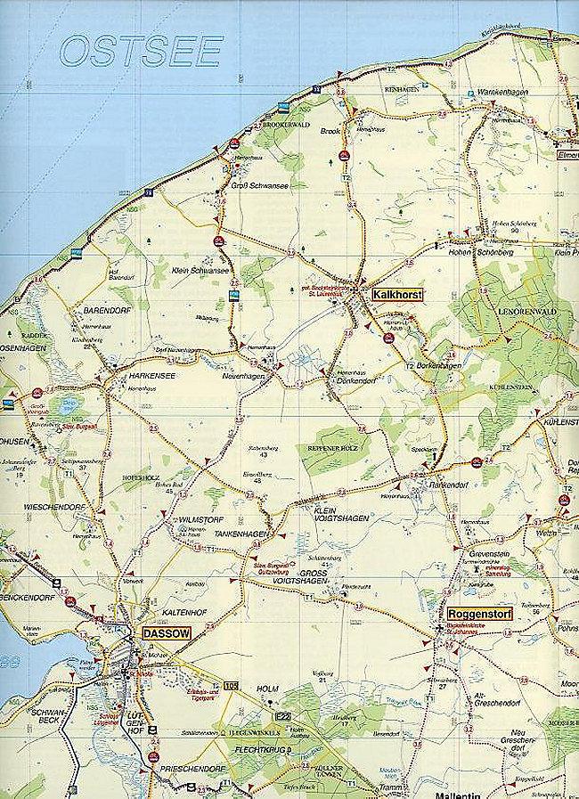 Karte Lübeck.Doktor Barthel Karte Hansestadt Lübeck Travemünde Boltenhagen Und