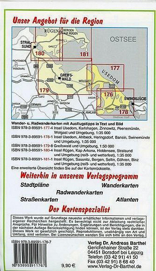 Insel Usedom Karte Ostsee.Doktor Barthel Karte Insel Usedom Buch Bei Weltbild De Bestellen