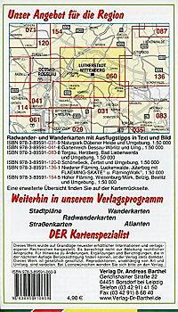 Doktor Barthel Karte Lutherstadt Wittenberg und Umgebung - Produktdetailbild 1